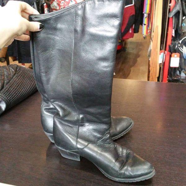 SANTANA Leather Knee-High BOOTS 21660
