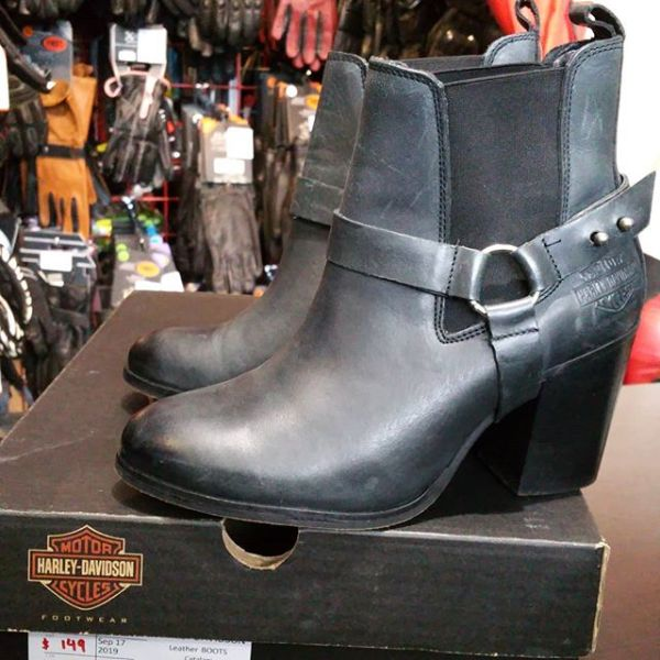 HARLEY DAVIDSON Leather Catalani BOOTS 21932