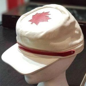 MACK'S LEATHERS Leather Civil War HAT 22424 ( Size MED )
