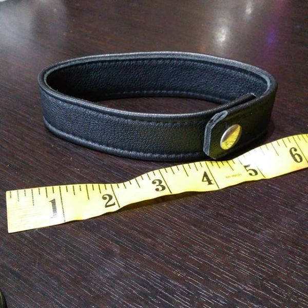 """UNBRANDED Leather Arm band ACCESSORY 22544 ( Size 6"""" diameter )"""