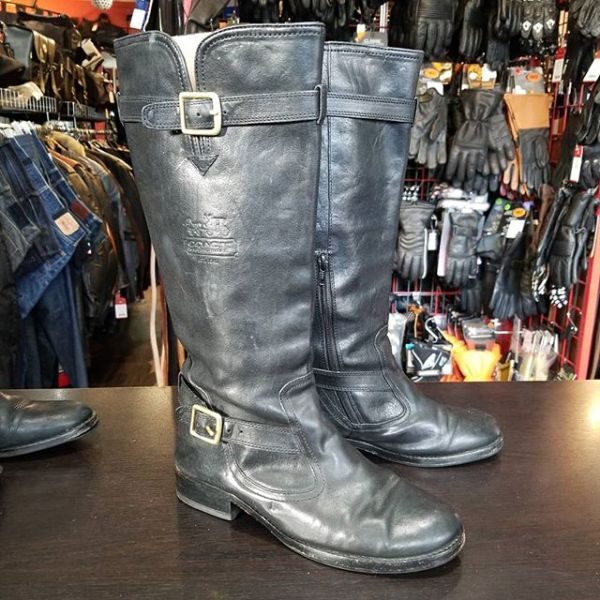 Coach Leather Whitley BOOTS 22906