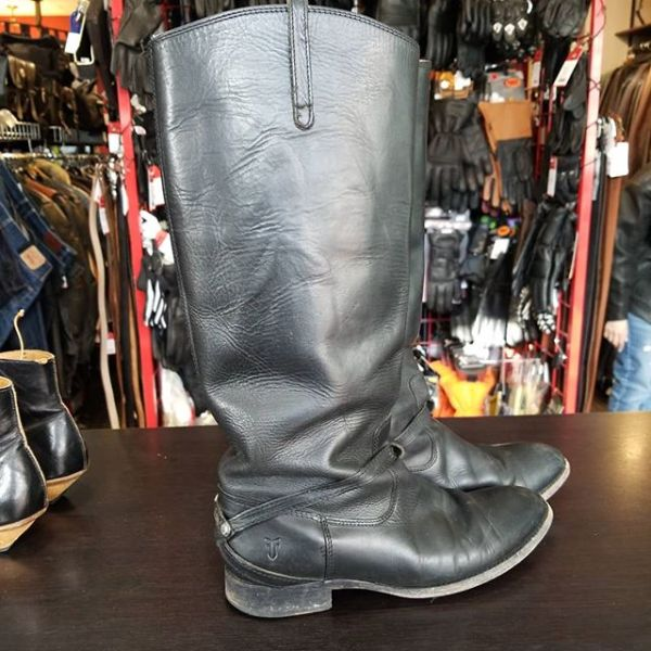 FRYE Leather Equestrian+ BOOTS 22913