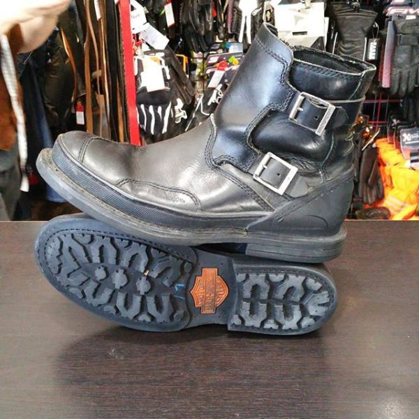 HARLEY DAVIDSON Leather Riding BOOTS 22917