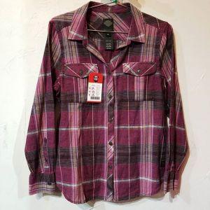 HARLEY DAVIDSON Textile Plaid SHIRT 23116 ( Size MED w )