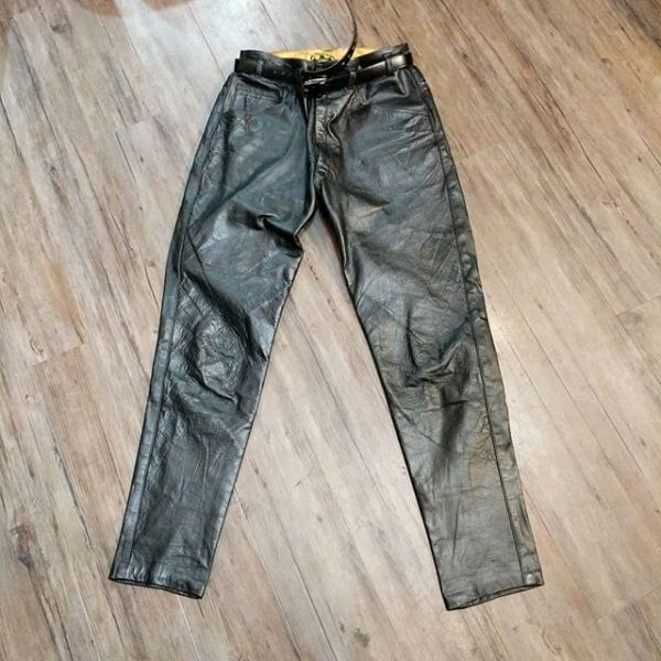 "GOLD TOP Leather VINTAGE PANTS 23171 ( Size 34"" )"