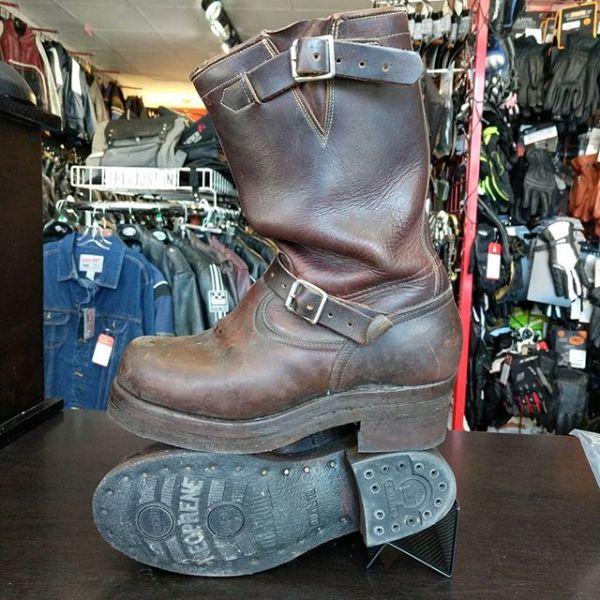 Dayton Brown engineer boots
