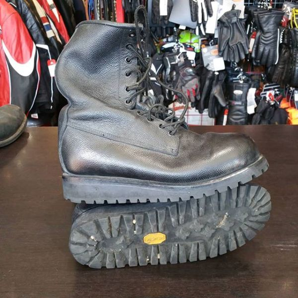 UNBRANDED Leather Service BOOTS 23308