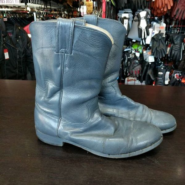 JUSTIN Leather Western BOOTS 23316