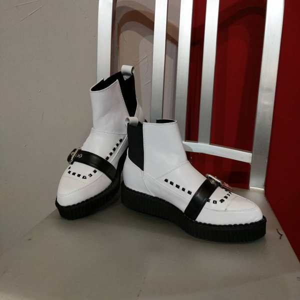 TUK Leather Creepers SHOES 23604 ( Size: 37-38 )