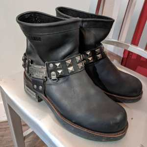 DURANGO Leather Harness BOOTS | 23714 | Size: 38