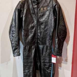 TREEN Leather Vintage RACE SUIT | 23744 | Size: XS m 38