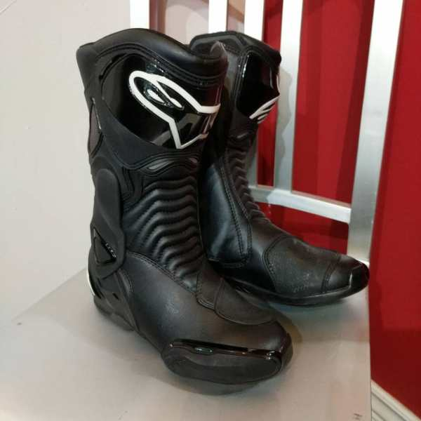 ALPINESTARS Leather SMX-6 BOOTS | 24025