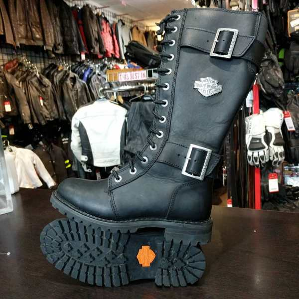 HARLEY DAVIDSON Leather Knee High BOOTS | 24077