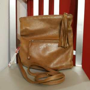 ROOTS Leather Purse BAGGAGE