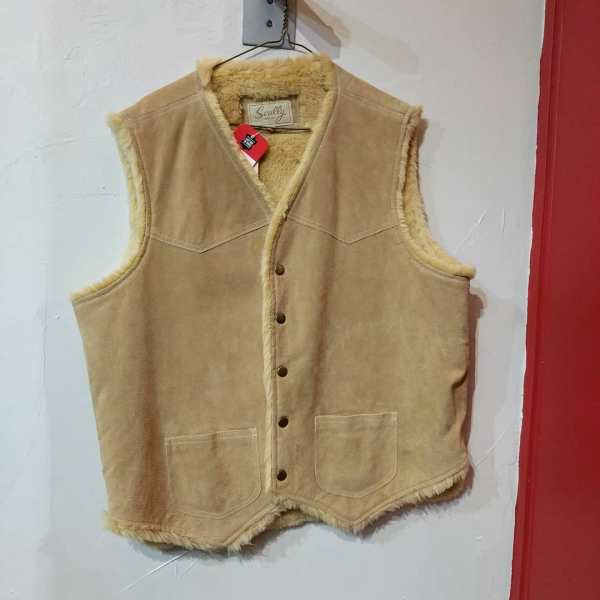 SCULLY Suede Fuzz-lined VEST | 24152