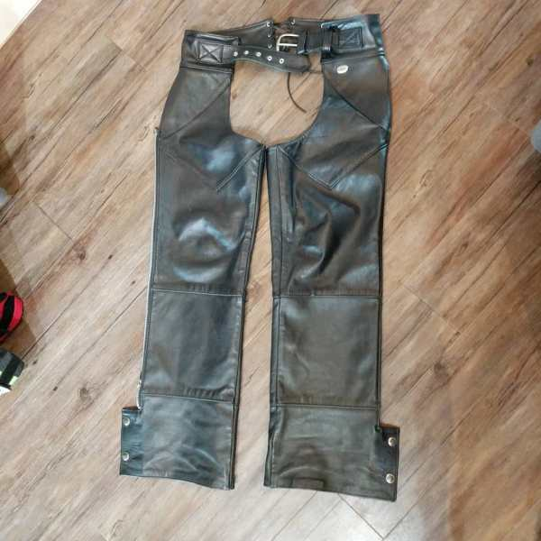 HARLEY DAVIDSON Leather Riding CHAPS | 24388