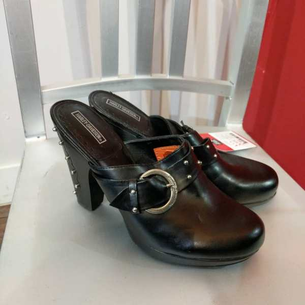 HARLEY DAVIDSON Leather Clogs SHOES | 24430
