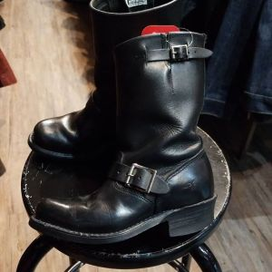 FRYE Leather Engineer BOOTS   24446