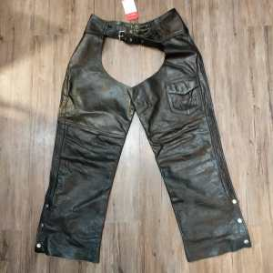 UNBRANDED Leather Riding CHAPS | 24465
