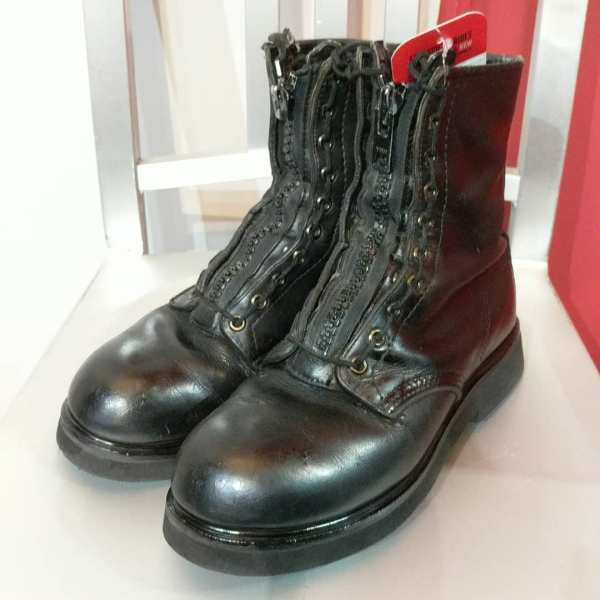 """Military Leather 8"""" Duty BOOTS 