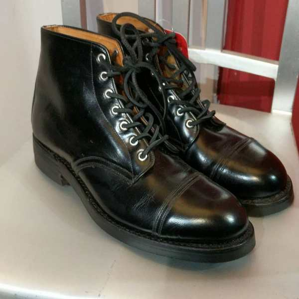 MILITARY Leather Parade BOOTS | 24664