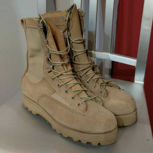 BELLEVILLE Mixed Material Army BOOTS | 24674