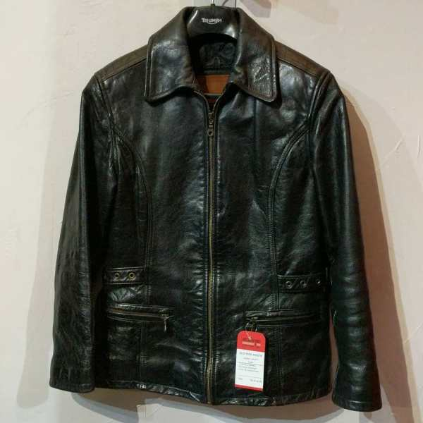 OLD HIDE HOUSE Leather Scuba JACKET | 24680