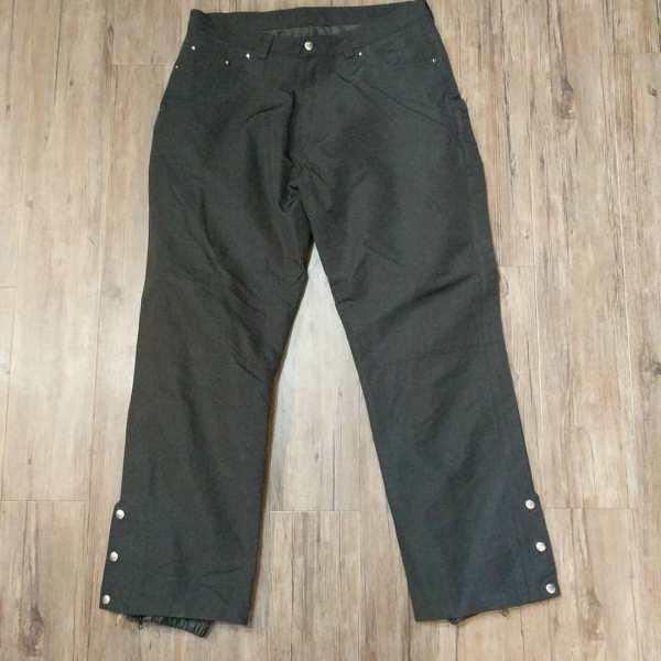 POWER TRIP Mixed Material Pants RAINGEAR | 24692