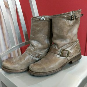 FRYE Leather Engineer BOOTS   24715
