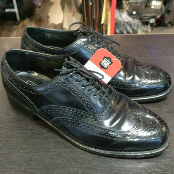 FLORSHEIM Leather Oxford SHOES   24724