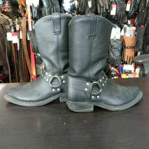 CANADA WEST Leather Harness BOOTS   24736