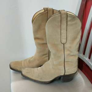 TRES OUTLAWS Suede Western BOOTS | 24854