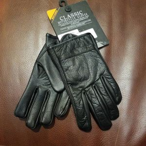 FIRST MFG Leather Shortie NEW GLOVES R1336