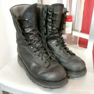 BOULET Leather Military 10 Hole BOOTS | 25007