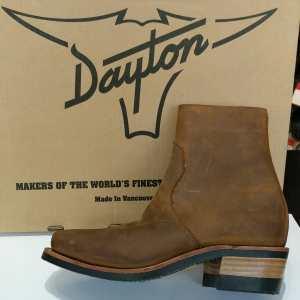 DAYTON Leather Sidezip BOOTS | 25049
