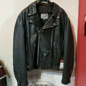 POUR LE SPORT Leather Biker Classic JACKET | 25057
