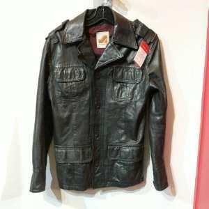 SHAINOS Leather Vintage SHIRT | 24973