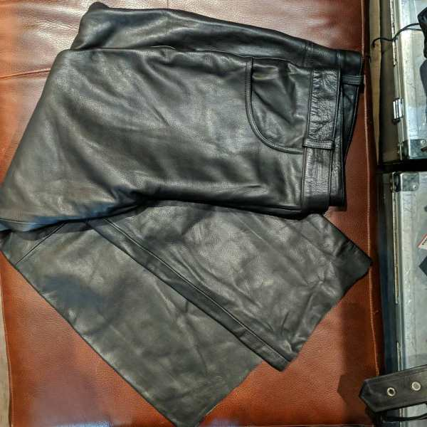 Boutique of Leathers Leather 5 pocket PANTS   25753