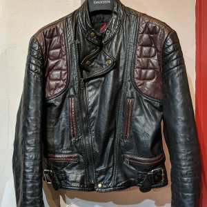 CORDOVAN Leather UK Biker JACKET | 25750