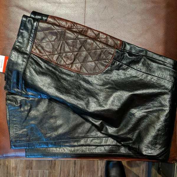 CUSTOM Leather Flat Track PANTS | 25625