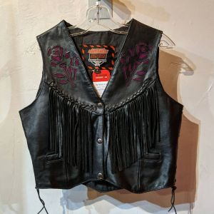 INTERSTATE Leather Fringed VEST | 25548
