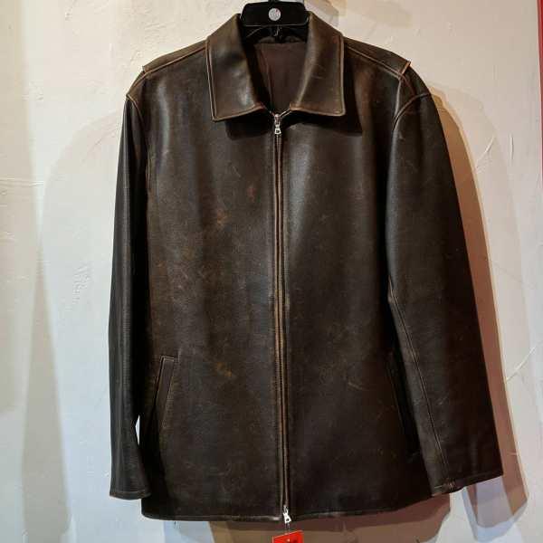 OCEANDRIVE Leather Riding JACKET | 25418