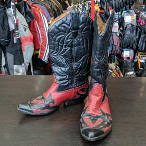 SUNDANCE Leather Western BOOTS | 25539