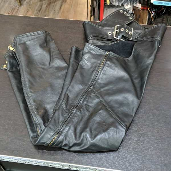 UNBRANDED Leather BAR CHAPS   25708