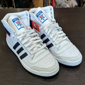 ADIDAS Leather Top Ten Hi SHOES | 25890