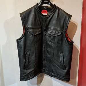 BIKERS DREAM Leather CLUB VEST | 25832