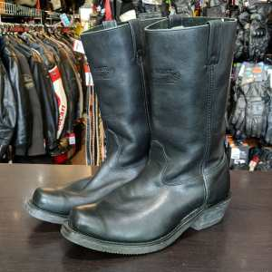 CANADA WEST Leather Biker BOOTS | 26057