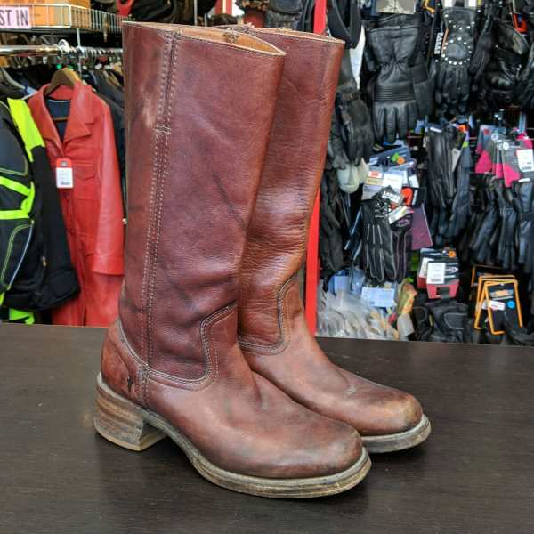 FRYE Leather Campus boot BOOTS | 25808