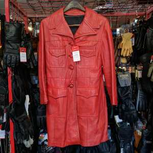 Unbranded Leather Short Trench JACKET | 25812