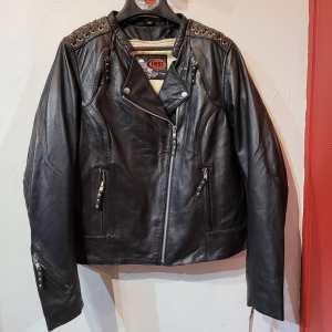 First Mfg Black Widow Leather JACKET | R1400